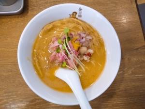 鳳仙花綱島店|金目鯛ラーメンとつけ麺食べてきた!限定の白湯はコクもあって美味