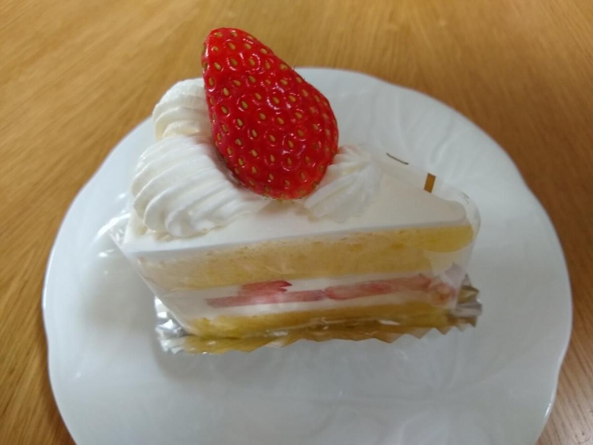 ル・ポアソンのいちごショートケーキ