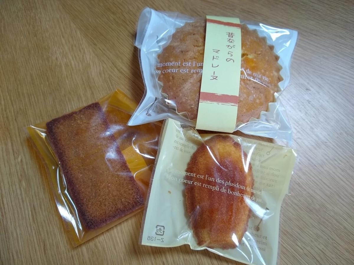 ル・ポアソンの焼き菓子