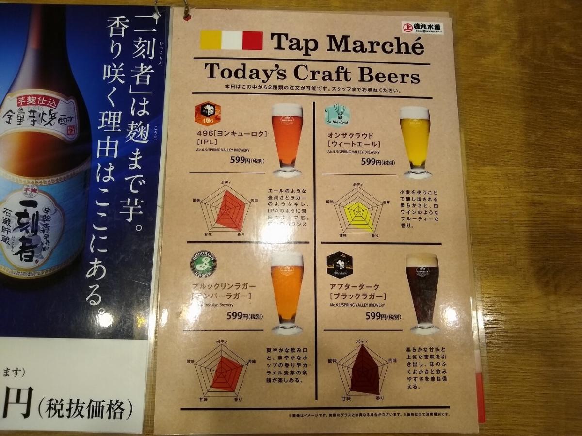 磯丸水産クラフトビール