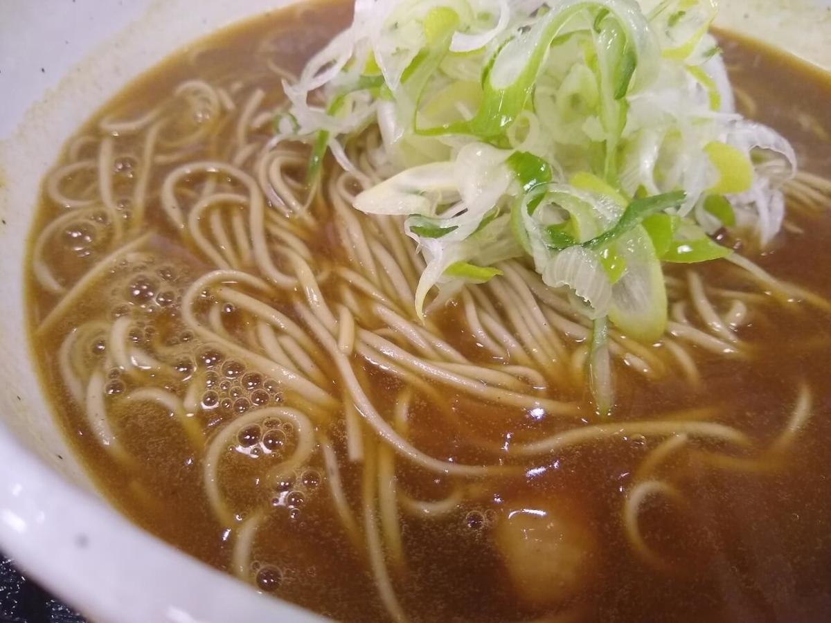 ISSHIN.のカレー蕎麦