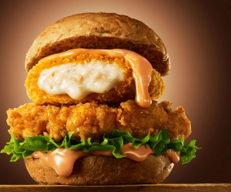 KFCクリーミーコロッケサンド