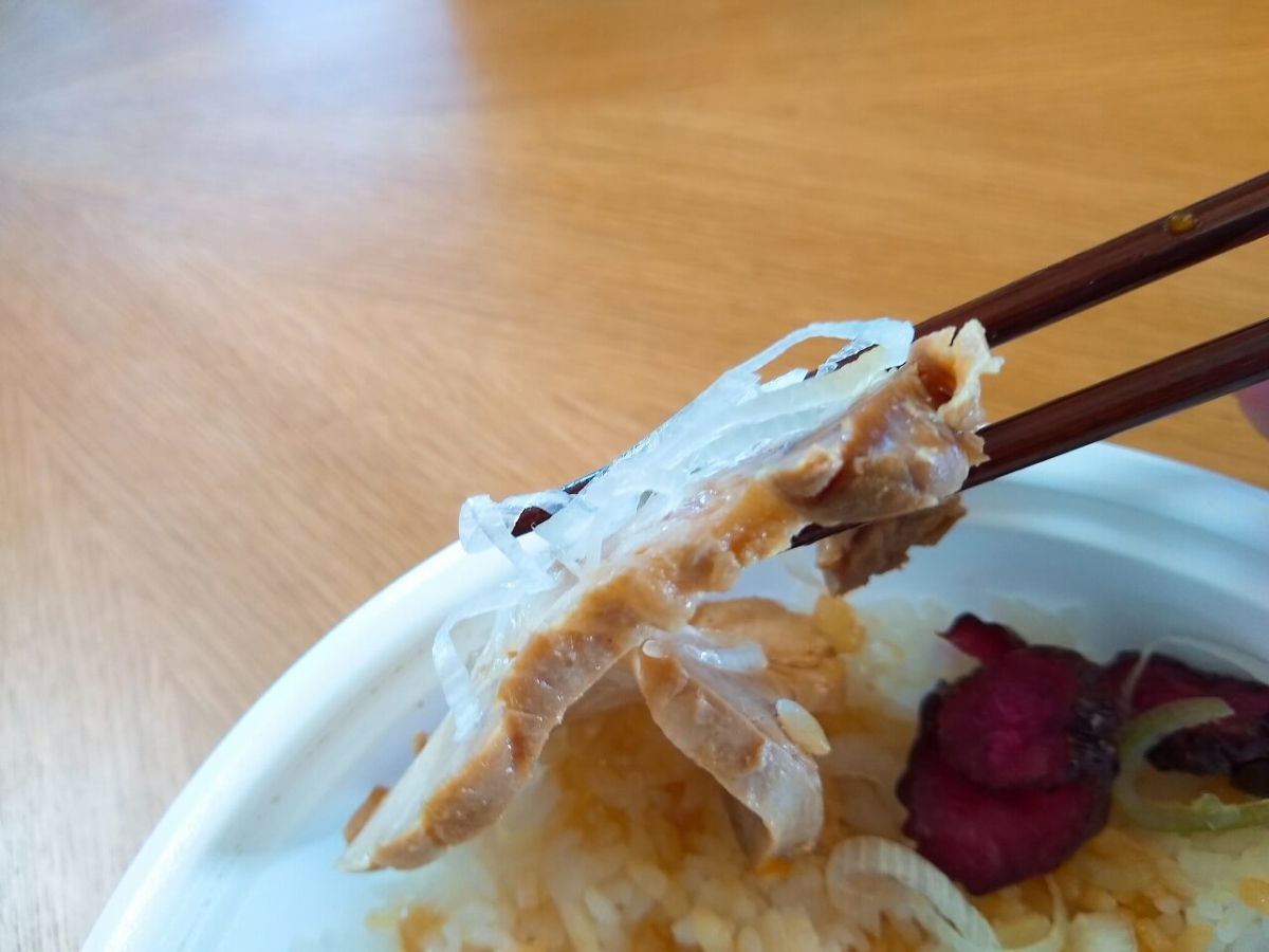 麺場寺井のチャーシュー丼テイクアウト