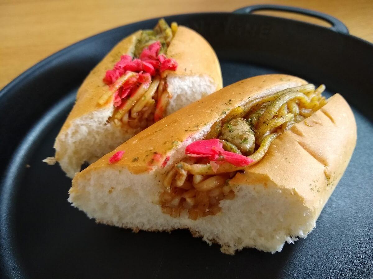 竹蔵焼きそばパン