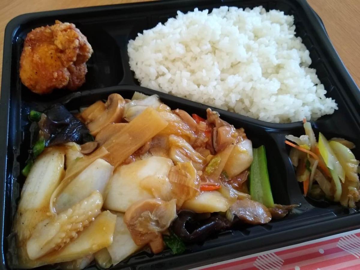 北京亭のお弁当テイクアウト