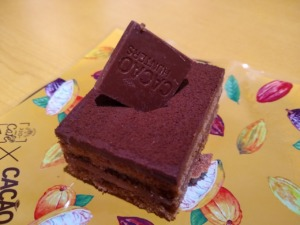 スシロー生ショコラケーキ