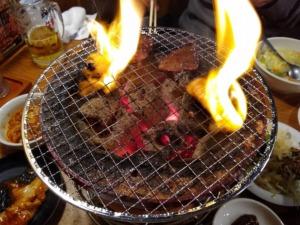 牛繁綱島店ランチ焼肉
