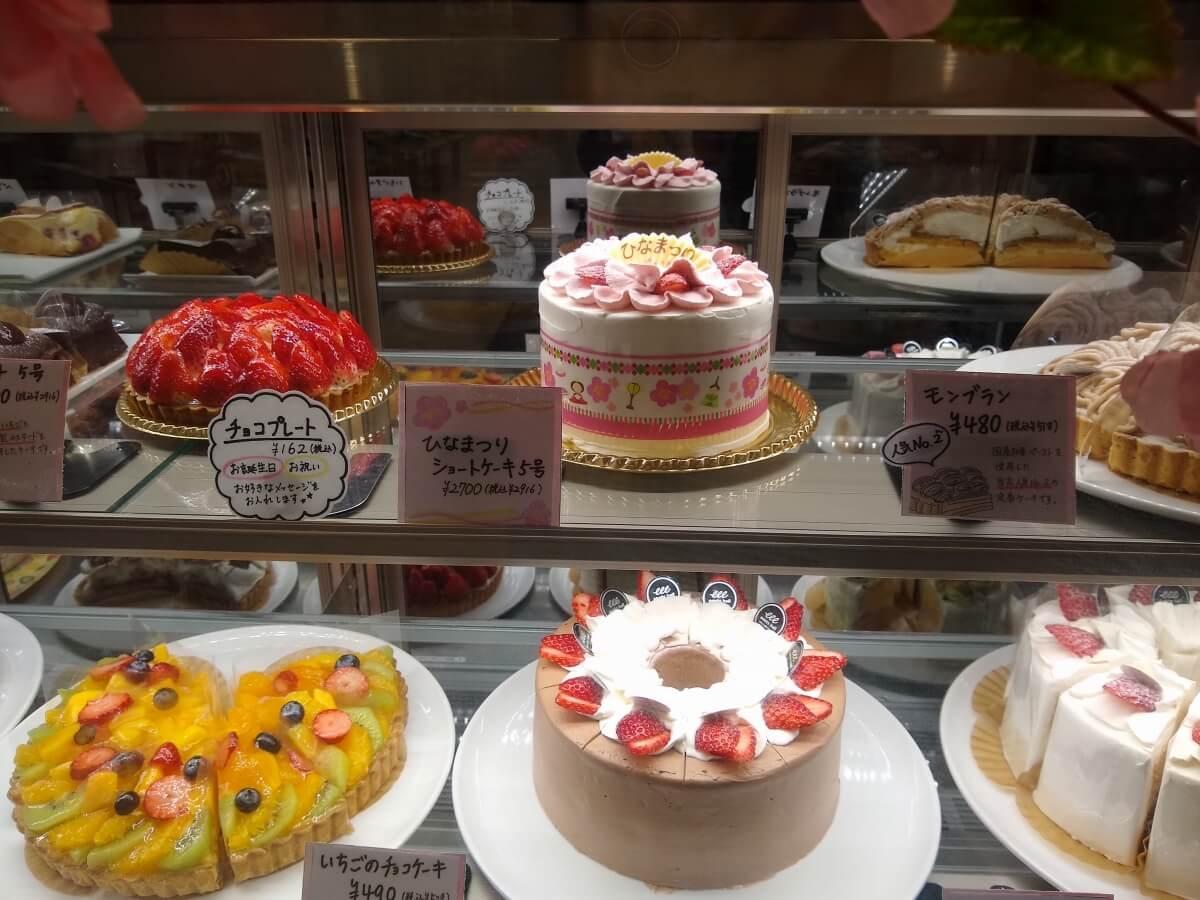綱島ひな祭りケーキ2021イーツホール