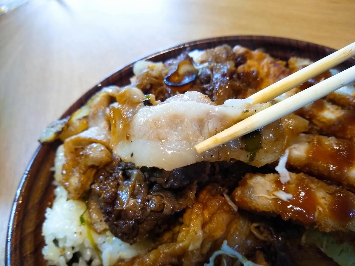 肉の城壁ジュニア食べてみた