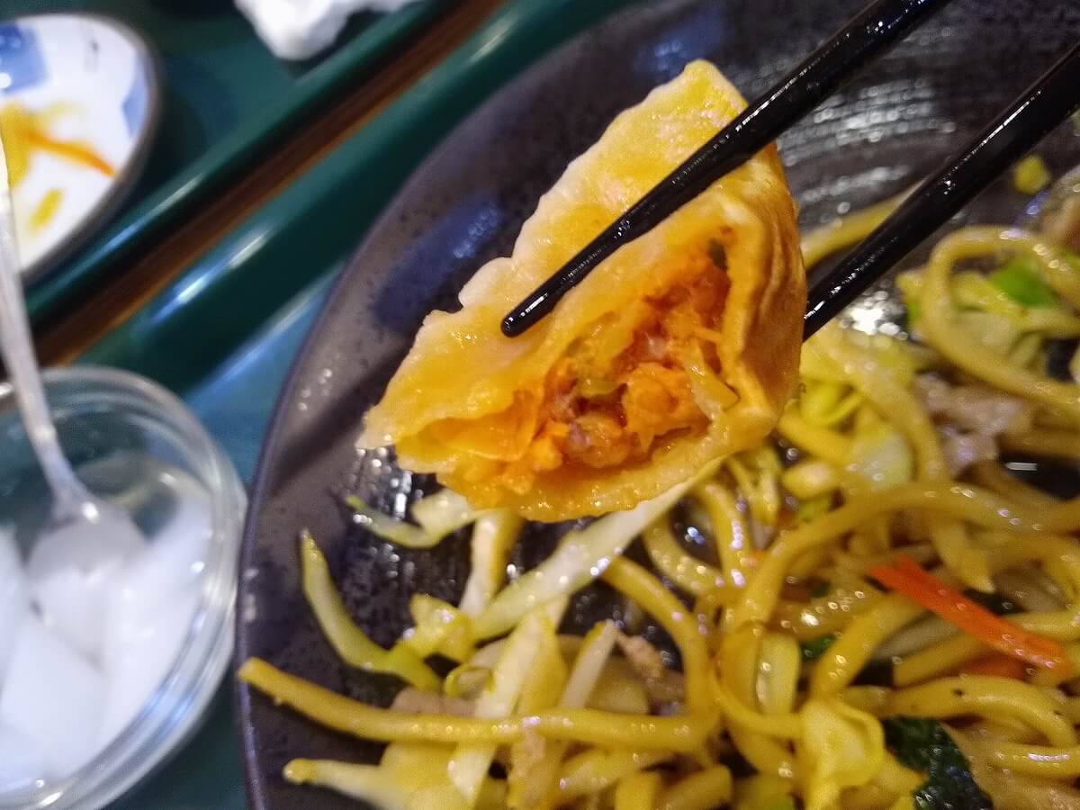 山東厨房の餃子