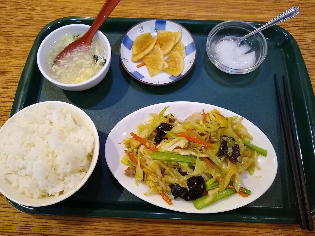 山東厨房ランチ定食