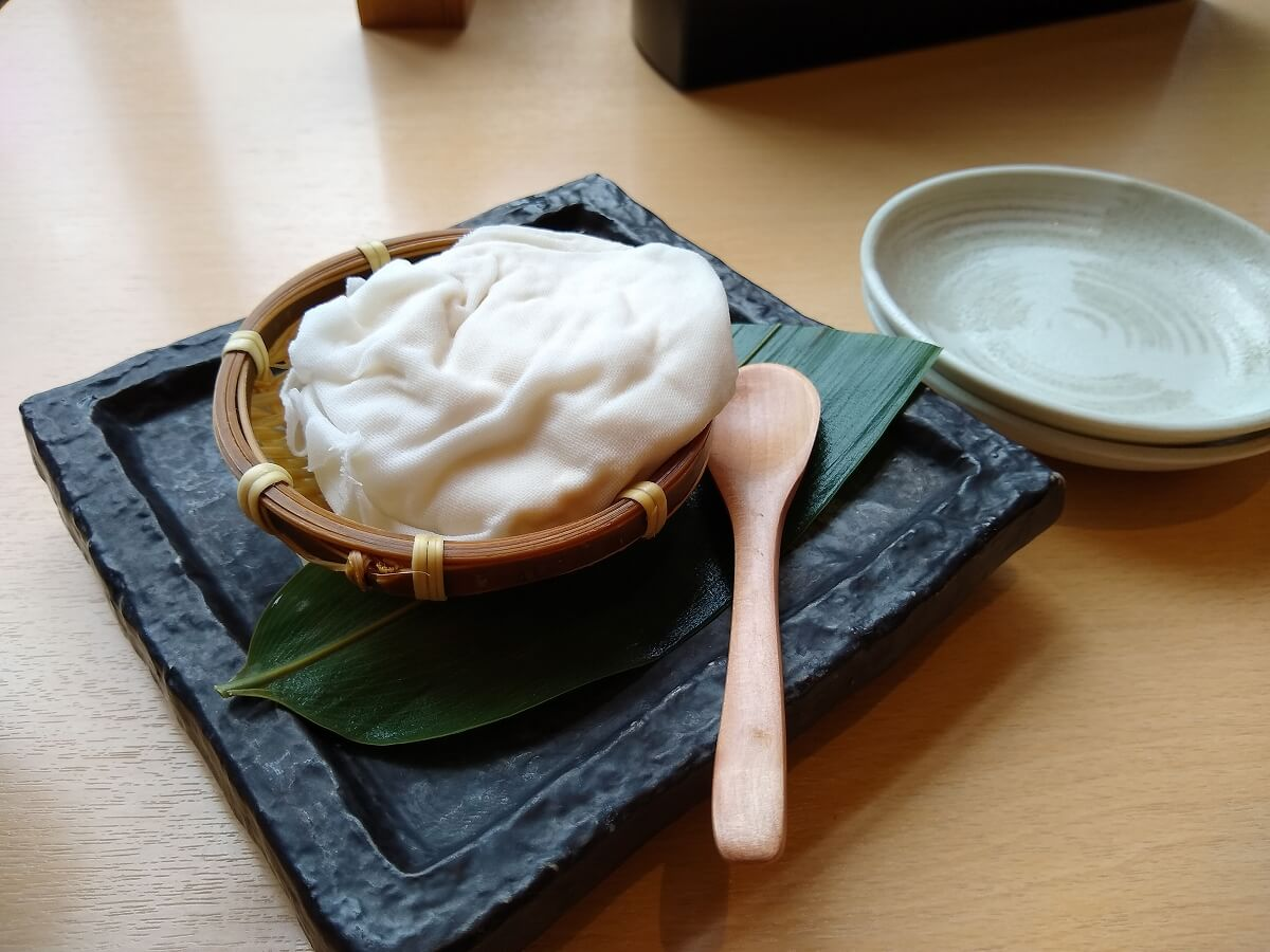 湯けむりの庄綱島の食事