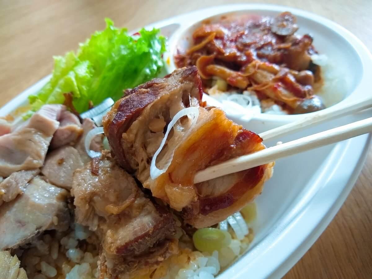 dipキッチンカーお弁当豚の角煮丼