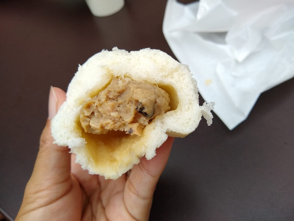 モミトイトレッサ横浜店のミニ肉まん