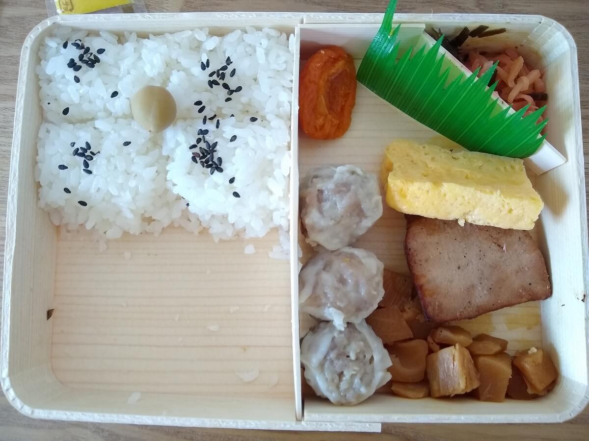 シウマイ弁当食べ方13