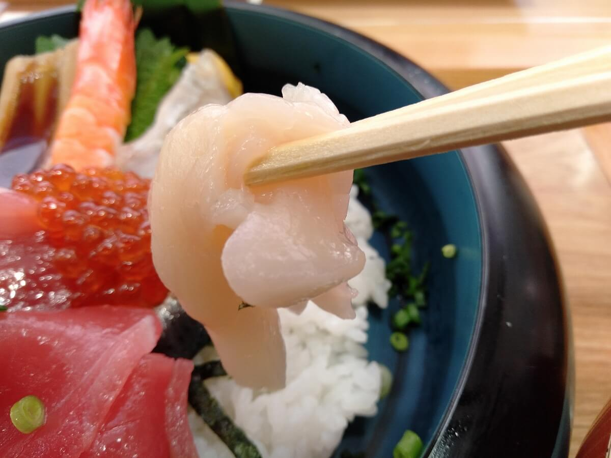 魚魚鮮ビッグヨーサン綱島樽町店の海鮮丼