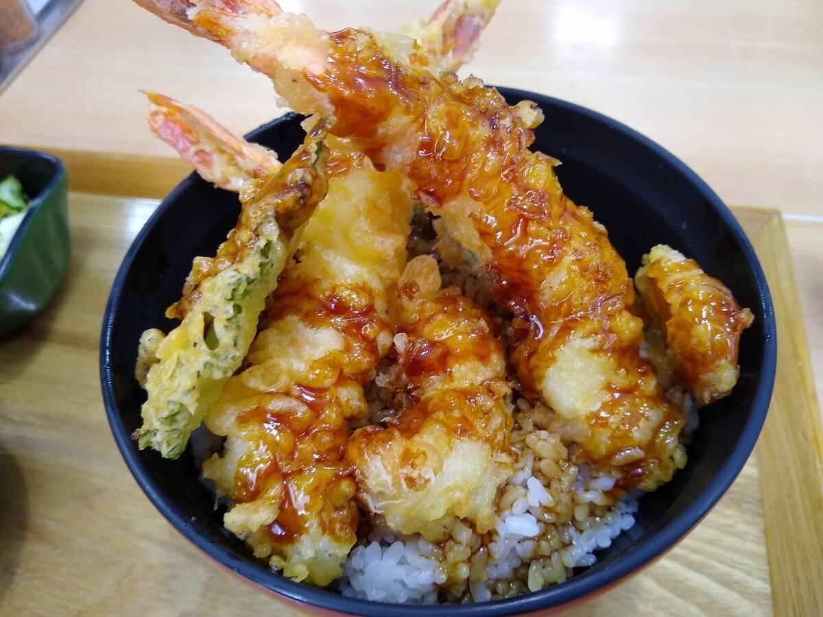 魚魚鮮ビッグヨーサン綱島樽町店天丼
