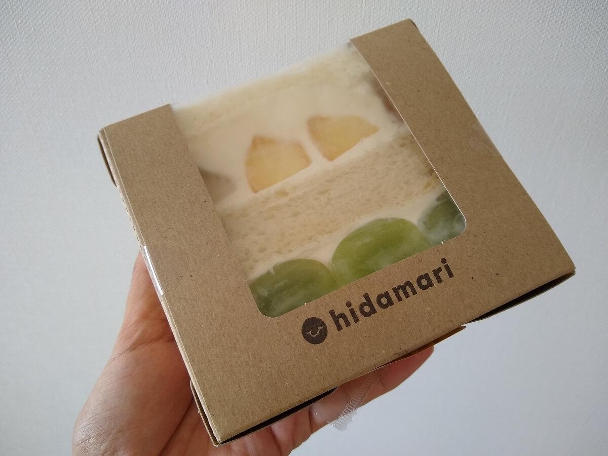 hidamariのフルーツサンド