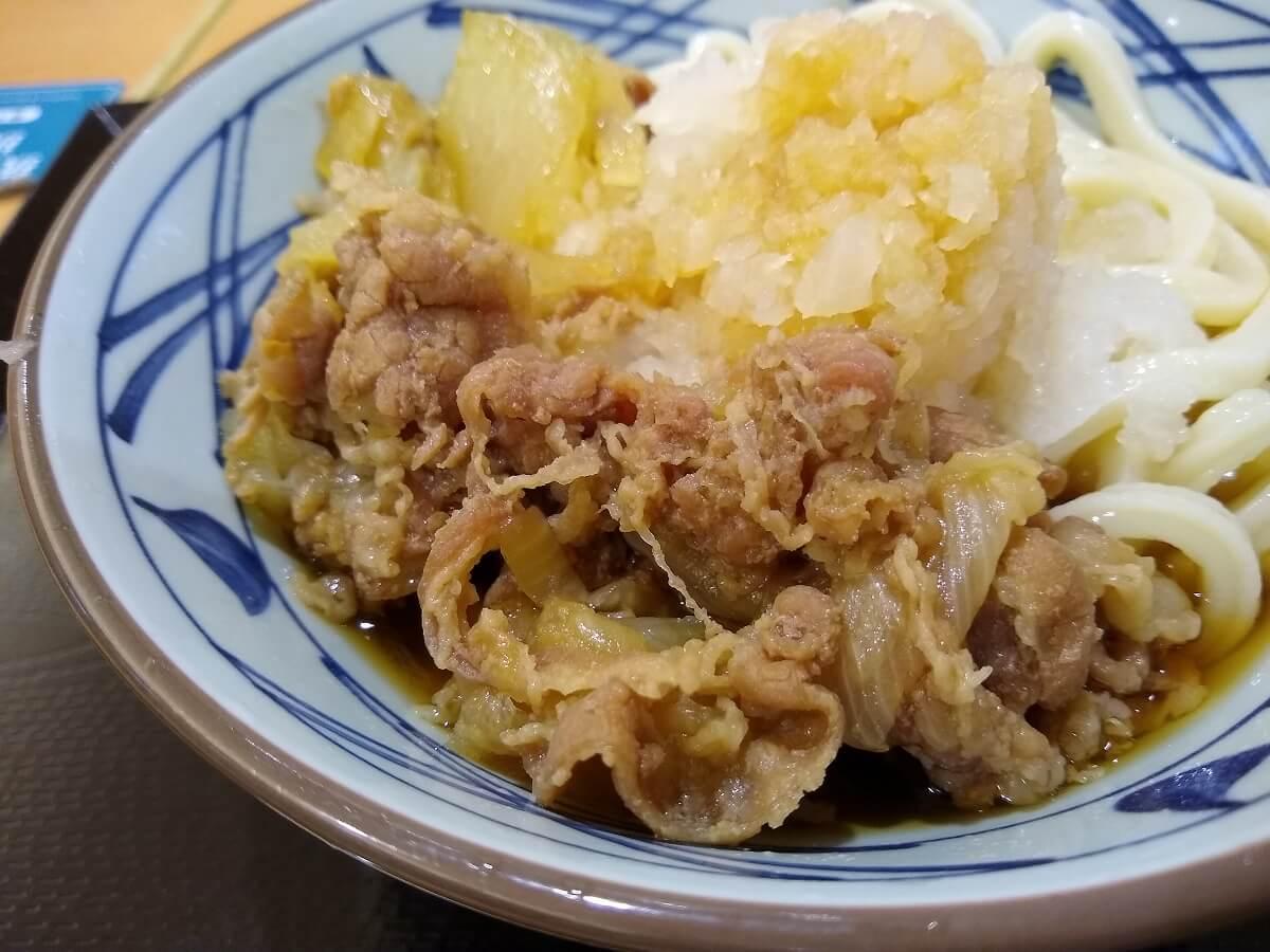 丸亀製麺鬼おろしぶっかけ