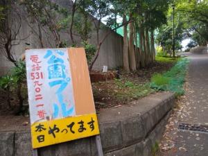 綱島公園プール2021