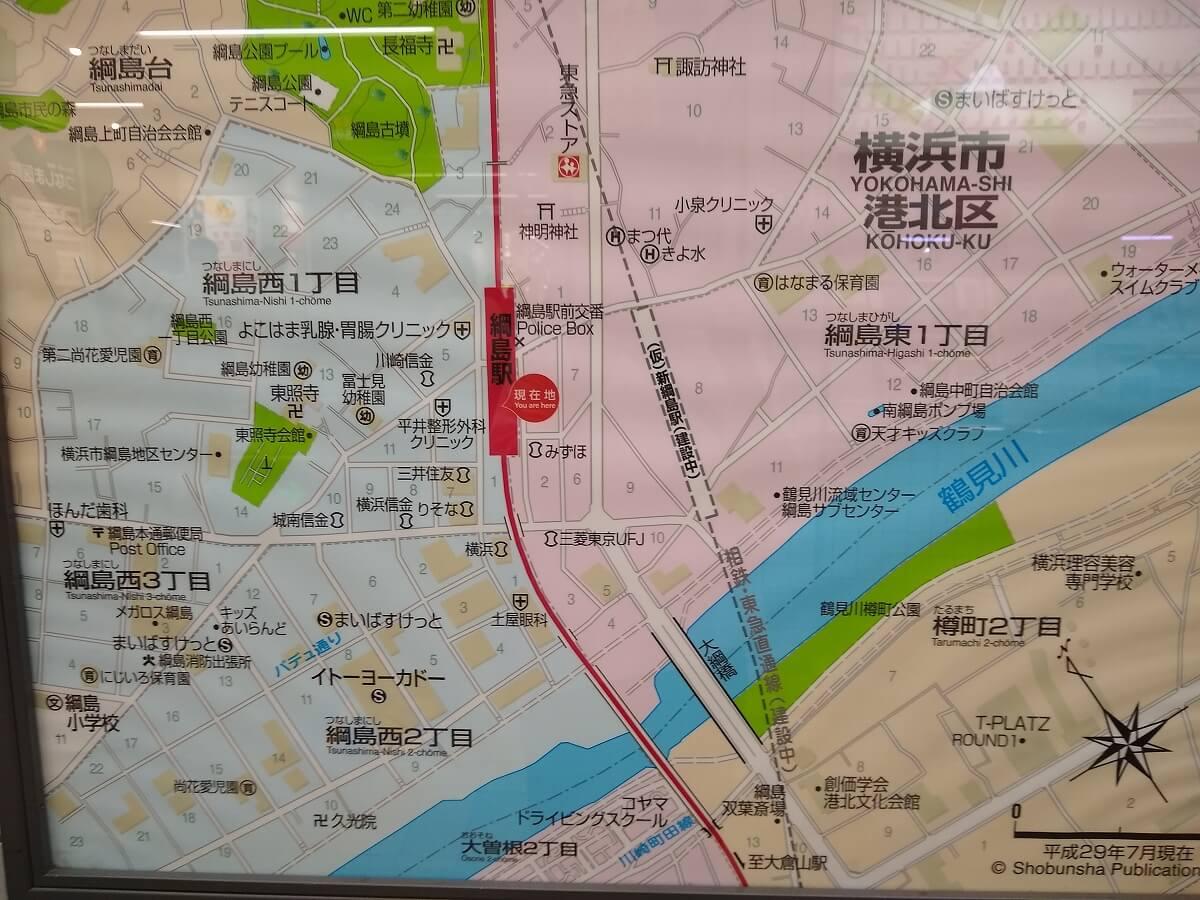 新綱島駅前再開発2021年8月