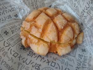 アルテリアベーカリー菊名店でクラウンメロンクリームメロンパン