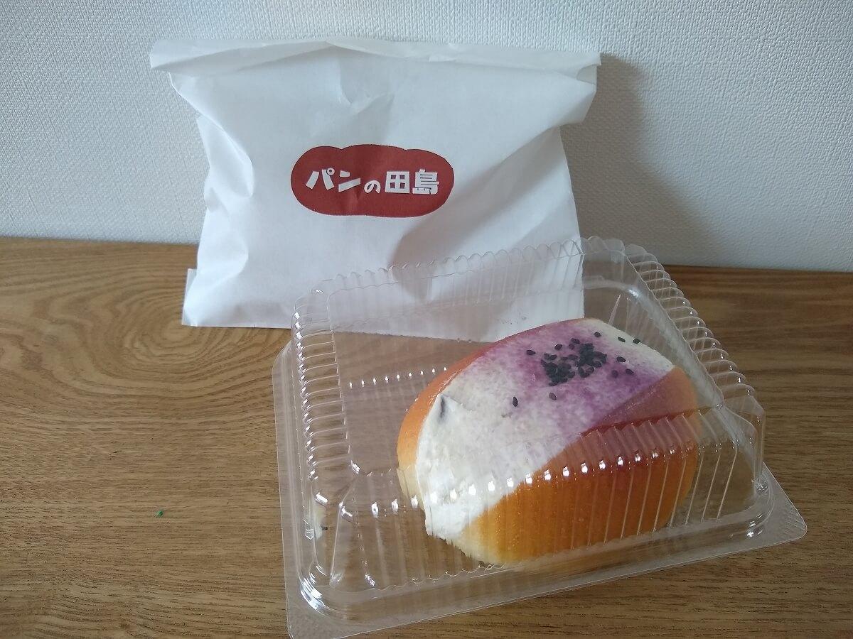 パンの田島綱島店のコッペパン