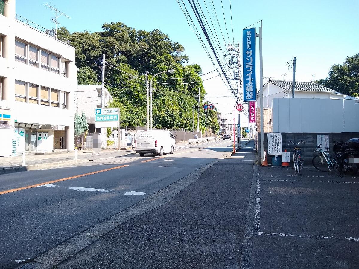 新綱島駅前再開発綱島街道