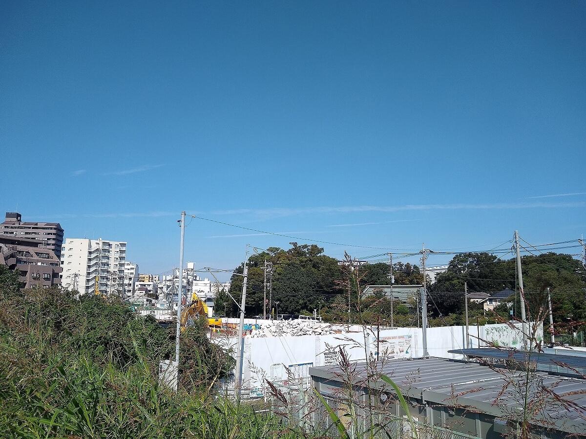 新綱島駅前再開発2021年9月